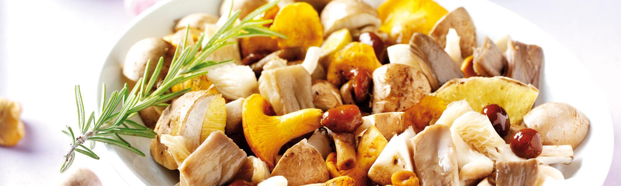 funghi surgelati